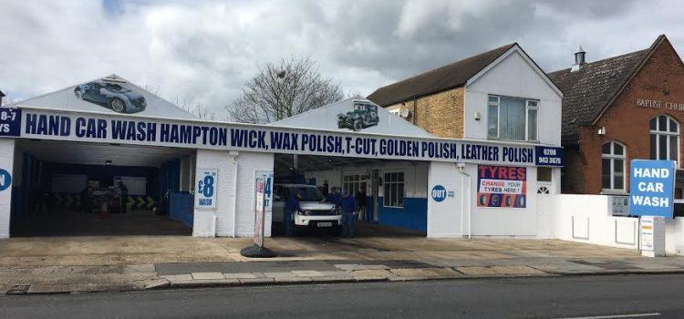 Autómosó munka (Car wash) Dél-nyugat Londonban